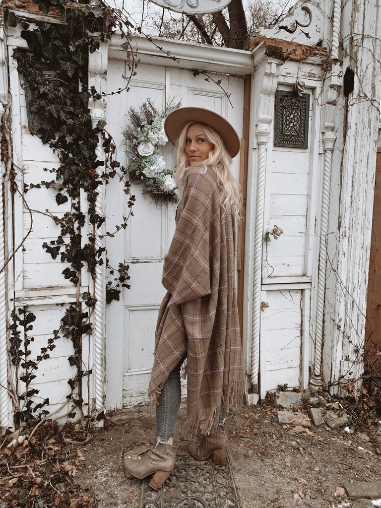 Keep Me Cozy Collection - CABIN FEVER / TAUPE