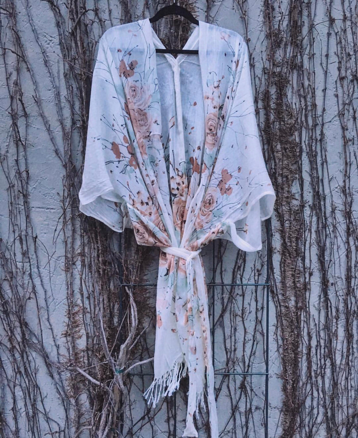 The Boho Bride Kimono- FLUSH BOUQUET