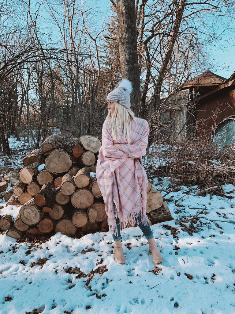 Keep Me Cozy Collection - CABIN FEVER / BLUSH