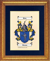 Color Prints & Coat of Arms