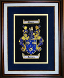 "8.75"" x 11"" Embroidery Coat of Arms"