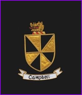 Embroidery Coat of arms family crest