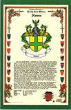 "11"" X 17"" Celebration History & Coat of Arms Free US S&H"