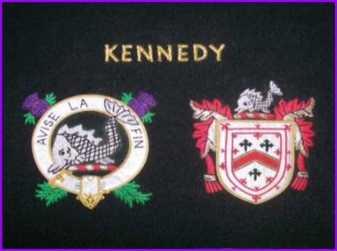 "11"" x 14"" Clan Badge and Coat of Arms Shield"