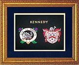 "11"" x 14"" Clan Badge and Coat of Arms Shield W/Free US S&H"