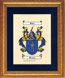 Large Color Coat of Arms W/Free US S&H