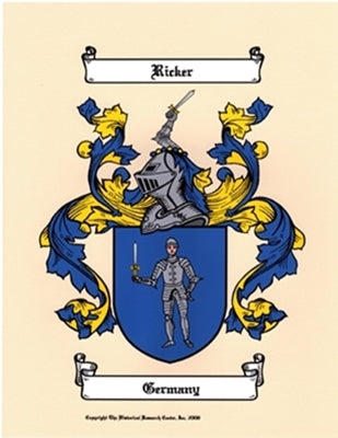 Small Color Coat of Arms & FREE SYMBOLISM PAGE plus  5% more off type in Fathers Day Code