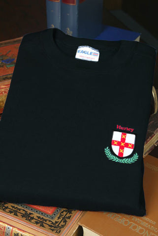 Embroidered Coat of Arms Sweatshirt W/Free US S&H