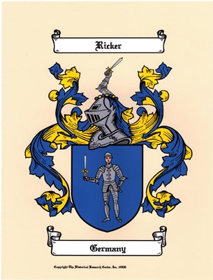 Color Coat of Arms & Symbolism Page