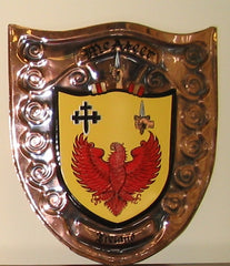 Family crest plaques hand made coat of arms