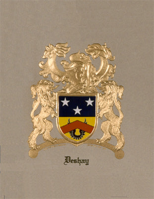 Embossed Coat of Arms W/Free US S&H
