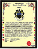 EMAIL ONLY -JPEG DIGITAL IMAGE HISTORY & COAT OF ARMS with Symbolism Page
