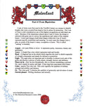 Email Only Color Coat of Arms Symbolism Page and History