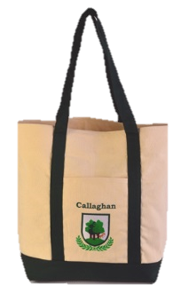 Embroidered Coat of Arms Tote Bag W/Free US S&H