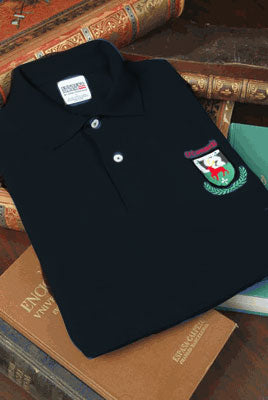 Embroidered Polo/Golf Shirt Coat of Arms Free US S&H