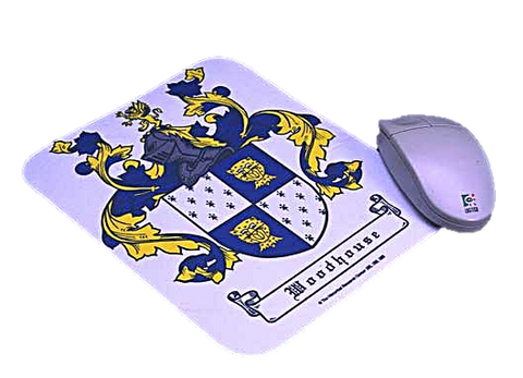 Mouse Pad Coat of Arms W/Free US S&H