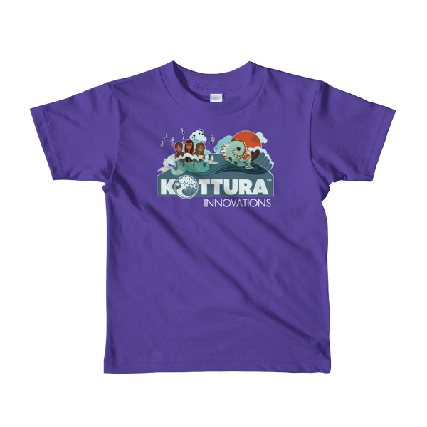 Youth Tees Sirenas Purple Tee: Youth - Kottura Innovations