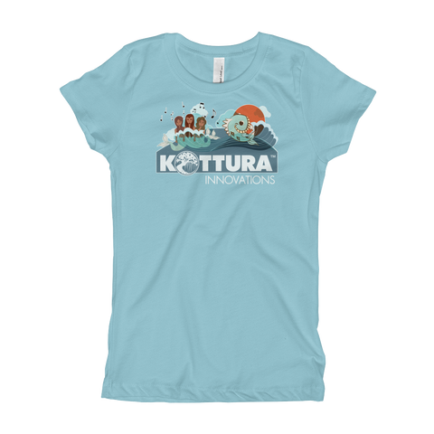 Youth Tees Sirenas Cancun Princess Tee: Youth - Kottura Innovations