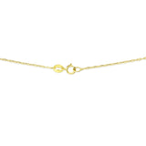 "20"" 0.6 mm. Anchor Link Necklace Gold Chain 14kt Yellow Gold"