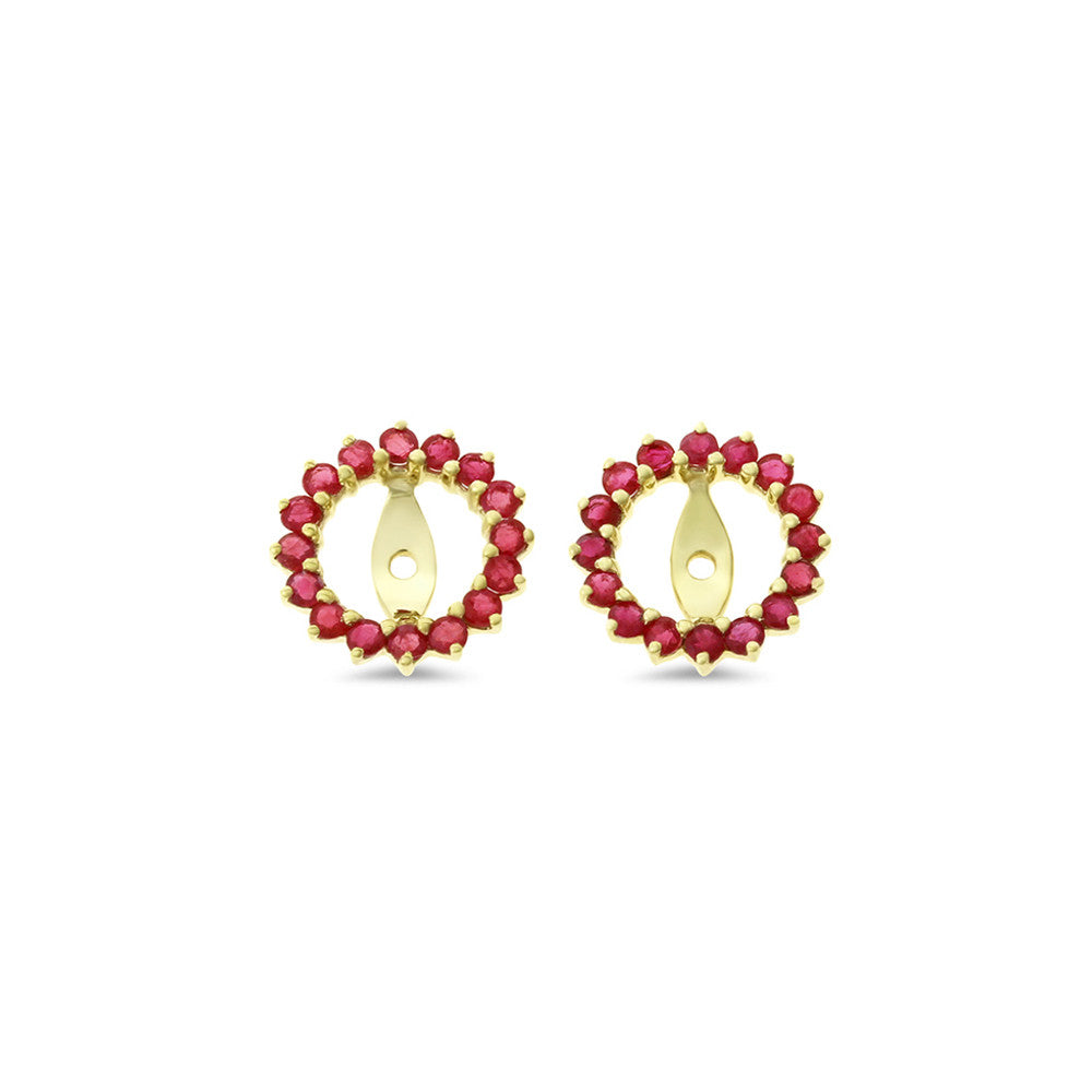 ruby silver solid buy ct stud natural now round pin earrings gemstoneking red sterling