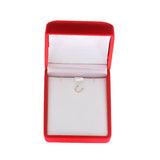 0.43ctw 6 mm. Heart Shaped Genuine Natural Opal Pendant 14kt White Gold