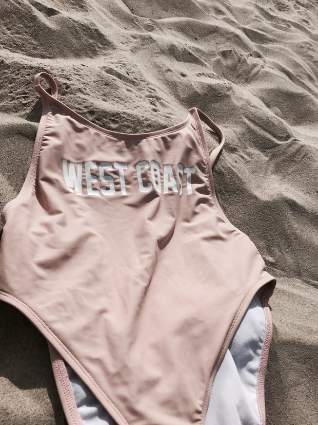 WEST COAST HIGH CUT ONE PIECE X BLUSH