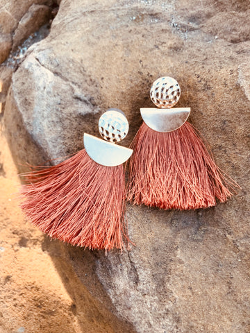 FIERCELY FRINGE EARRINGS