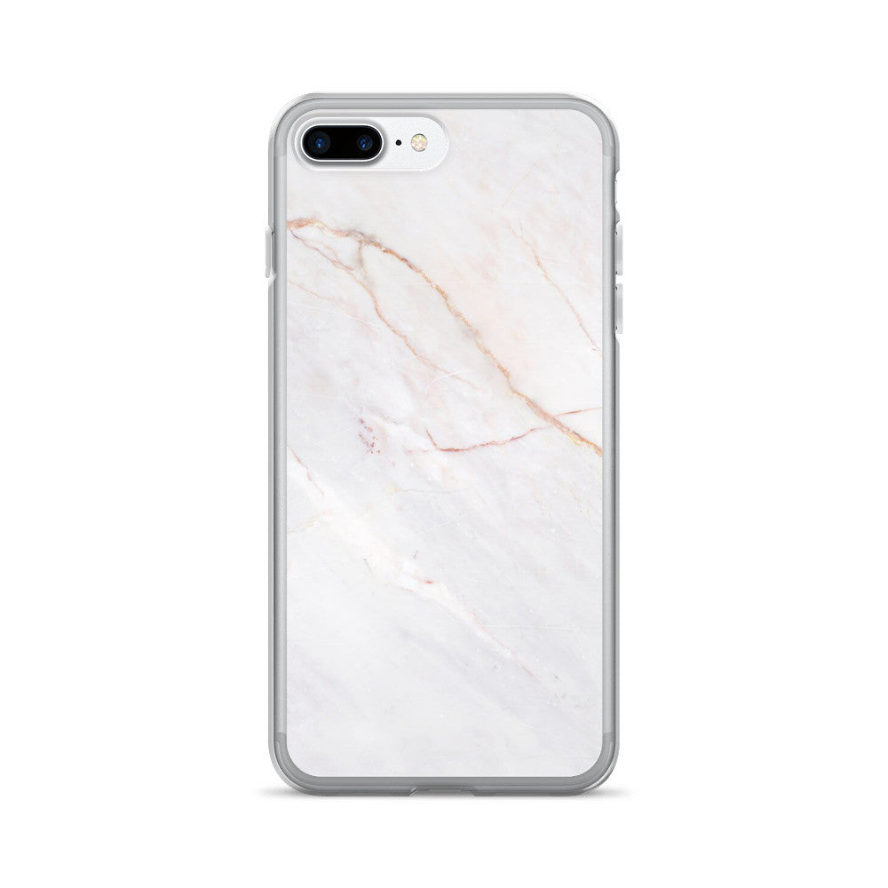 Marble Ivory X Gold iPhone 7/7 Plus Case