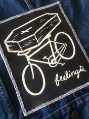 FEELINGS: PEDAL canvas jacket patch