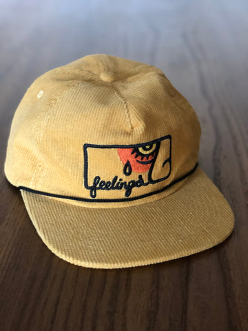 NEW!!! FEELINGS: PABLO corduroy hat