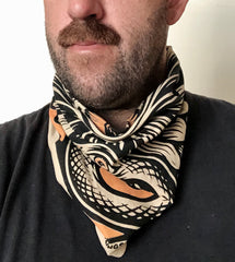 FEELINGS: Snake Bandana