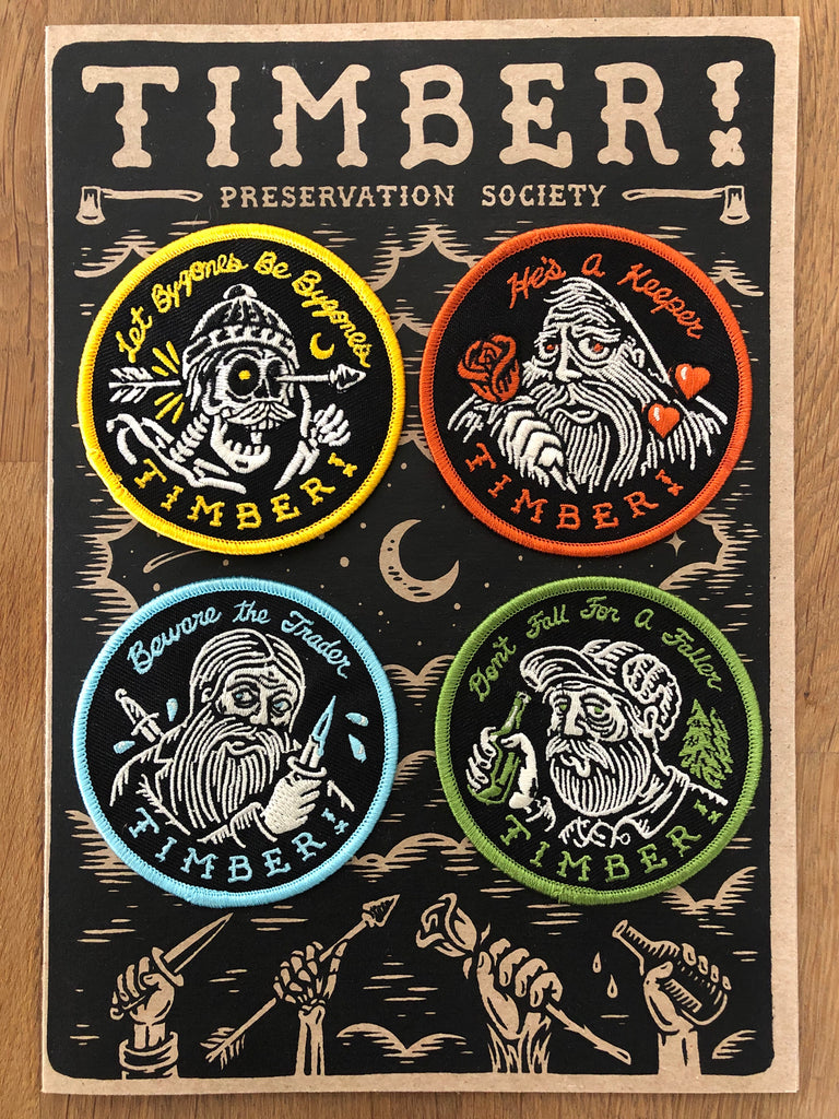SOCIETY patch pack