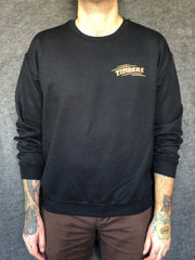 SWINGER in black fleece pullover