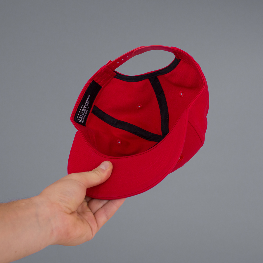 BOX CAP (RED)