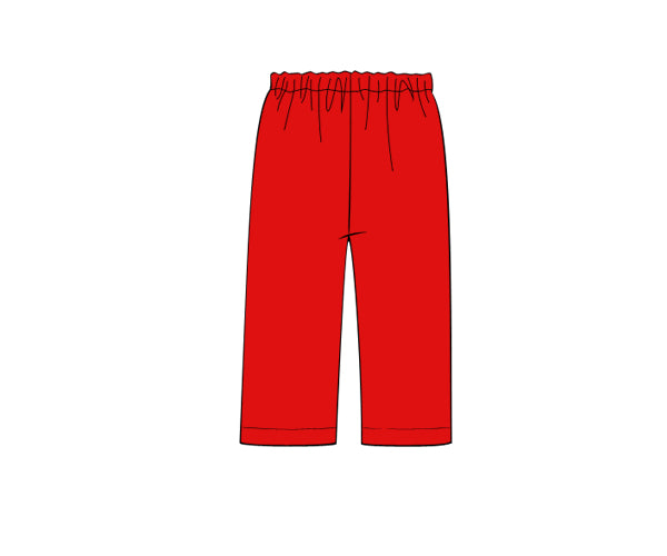 Boys Red Pants