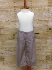 Boys Brown Gingham Pants, Boys Pants, The Smocking Bug, The Smocking Bug