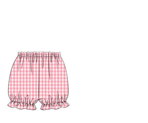 Pink Check Bloomers