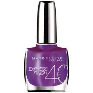 Express Finish - Deep Violet
