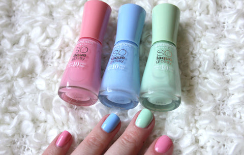 So Laque Glossy Nail Polish Bundle