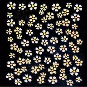 Daisy 3D Nail Art Stickers