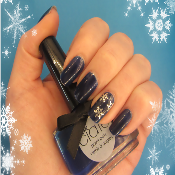 Frosty Christmas Nail Art Gift Set