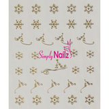 Christmas Nail Art Decal Collection