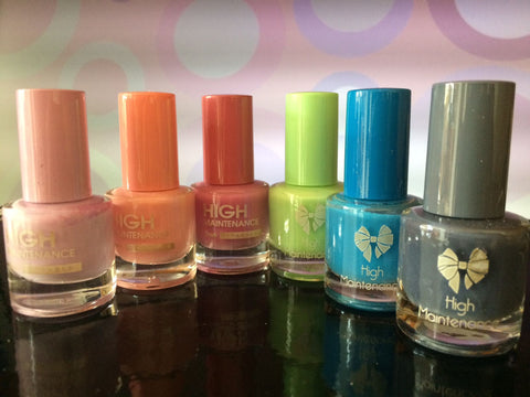 High Maintenance nail polish set