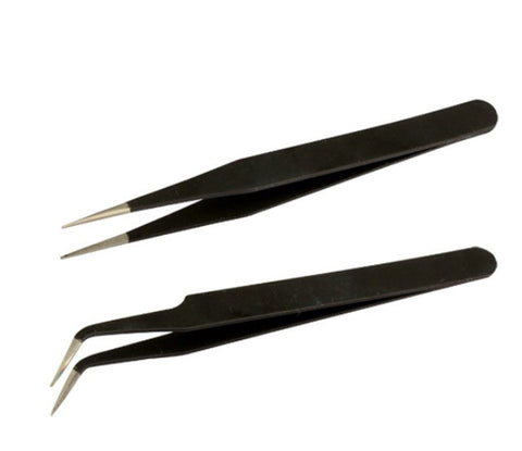 Nail Art Tweezers Set