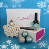 Icy Christmas Nail Art Gift Set