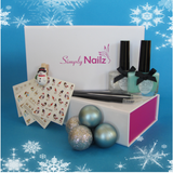 Icy Christmas Nail Art Gift Sets