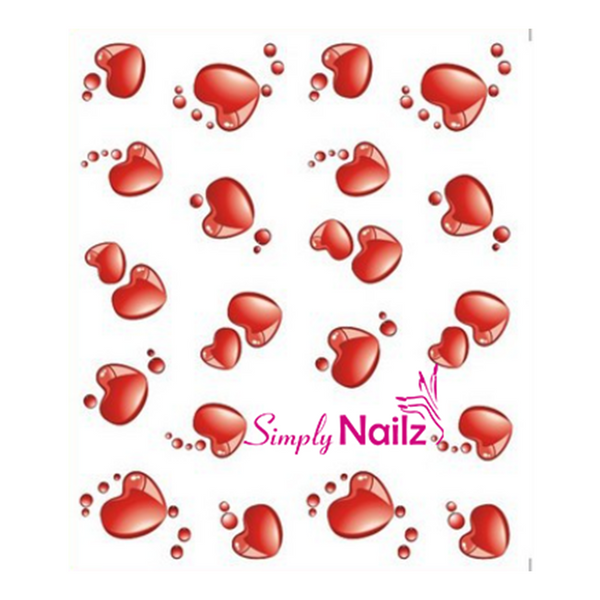 Valentines Nail Decal Gift Set