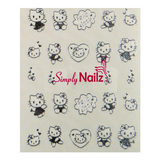 Hello Kitty Nail Art Water Decals