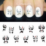 Tribal nail decal
