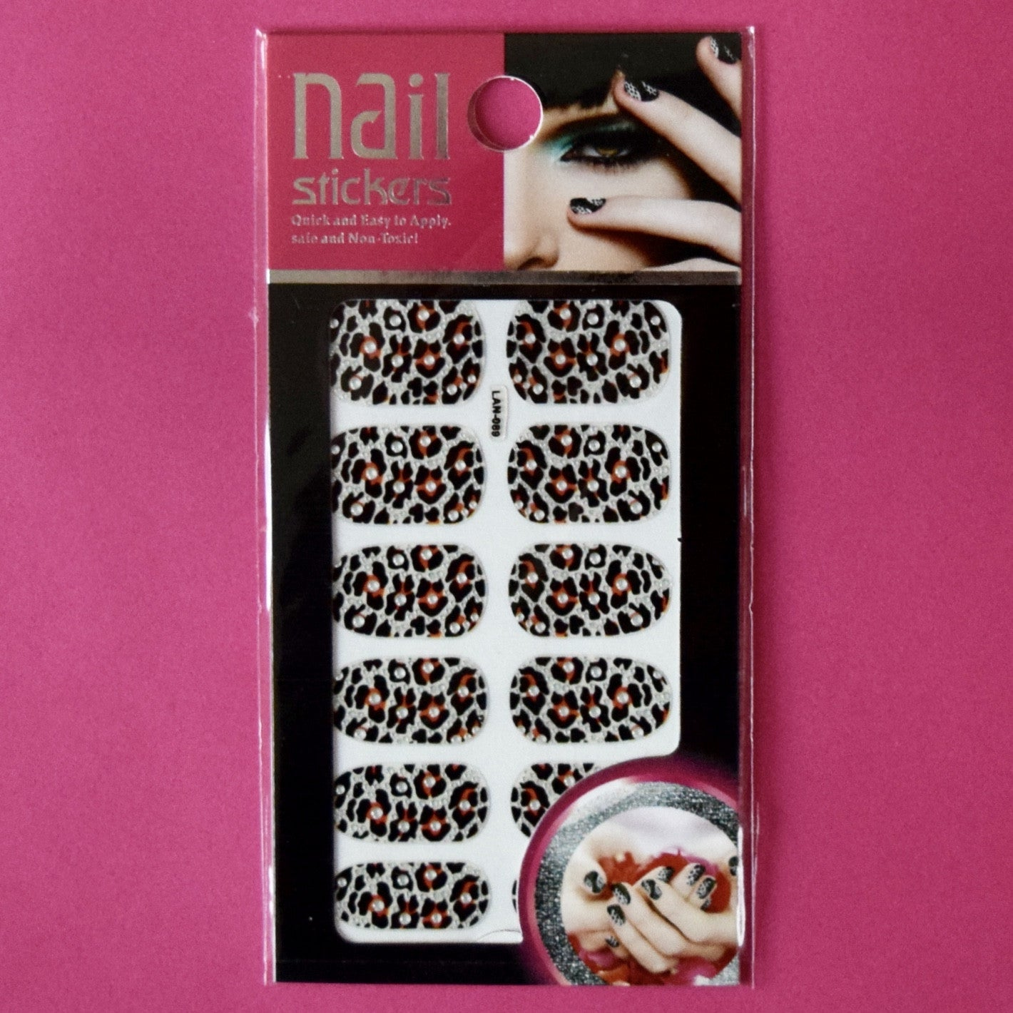 Full Nail Stickers Leopard print